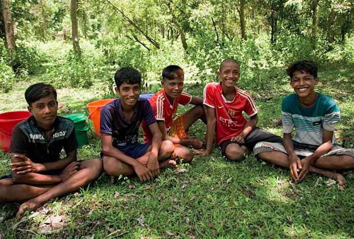 "For adolescents, the camps can be a dangerous place, especially at night. ""People in the camps are always trying to sell (methamphetamine) to me,"" Abdul said. ""They try to convince me that if I sell drugs I can make money and buy more things for my family"
