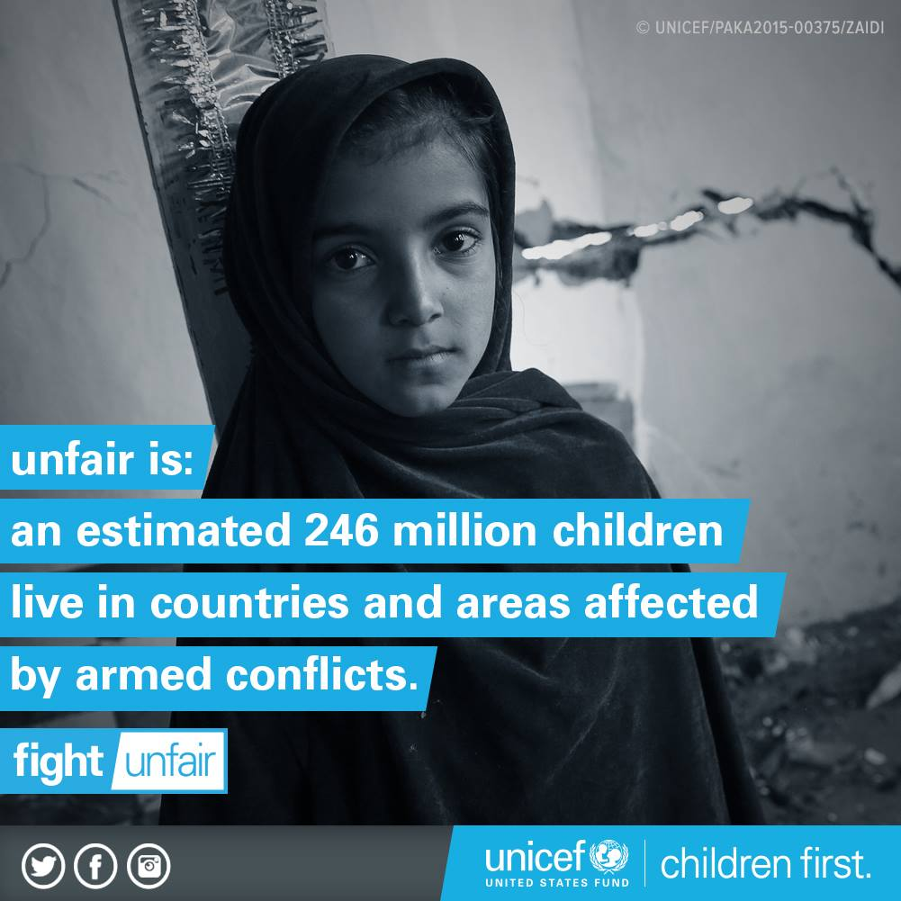 Fight Unfair: Children affected by conflict
