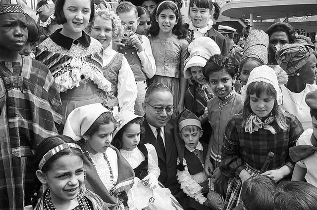 "UNICEF won the 1965 Nobel Prize for programs like Trick-or-Treat for UNICEF that ""proved compassion knows no national boundaries."""