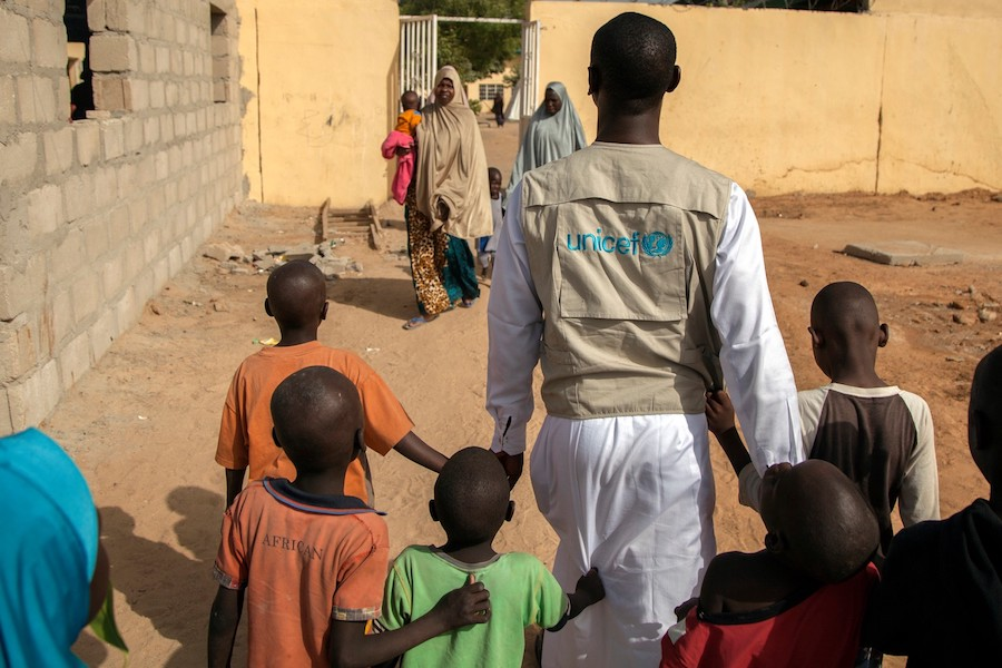 UNICEF and partners work to support children who have been rescued or escaped from armed groups in northeastern Nigeria.