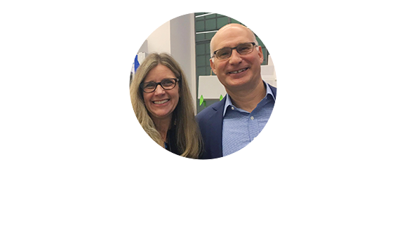 Kaia Miller Goldstein and Jonathan Goldstein