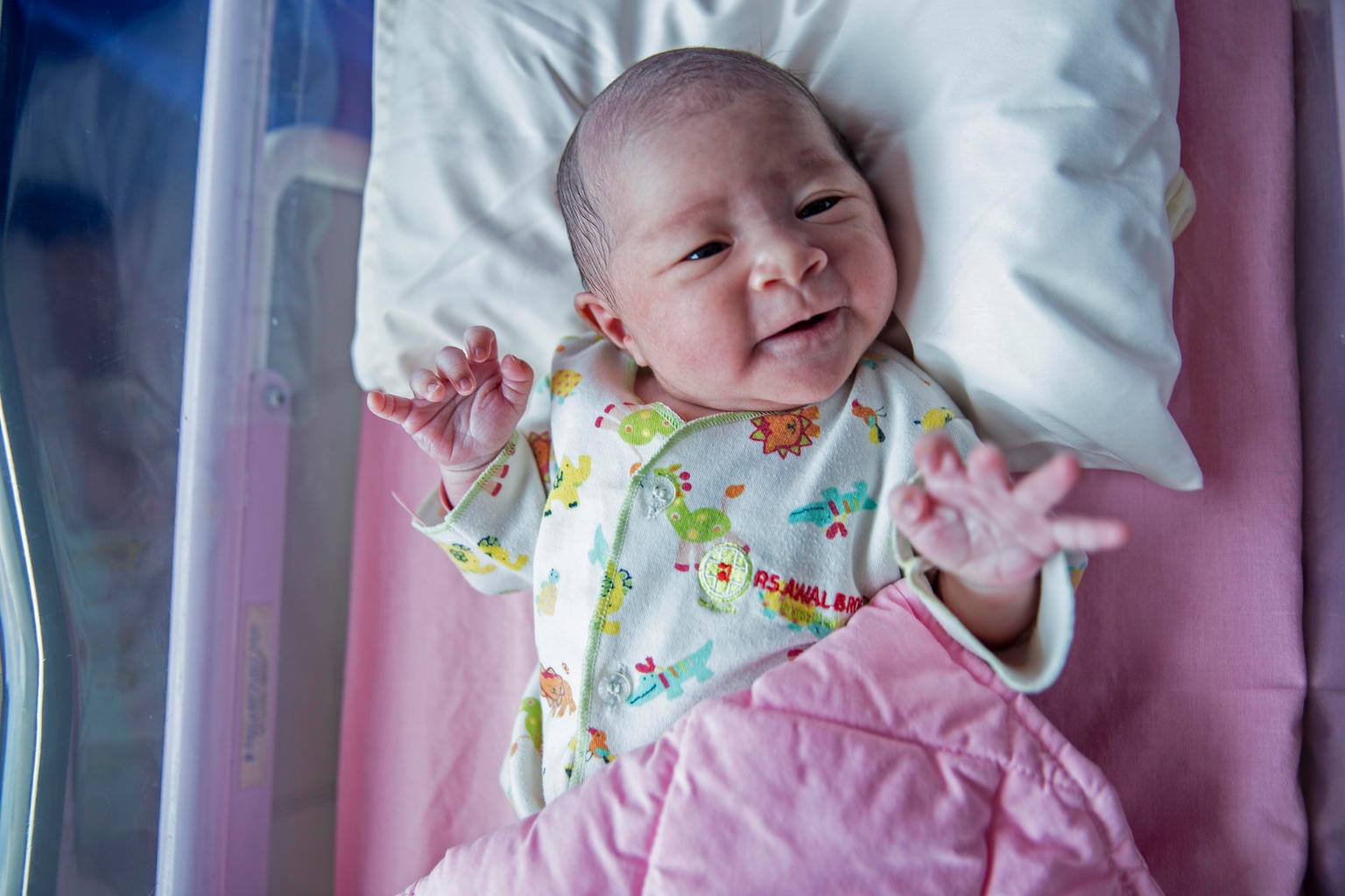 Indonesian Baby Born on Jan. 1, 2019