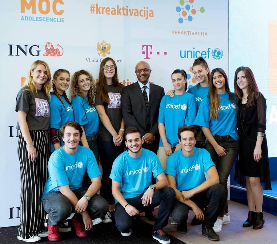 UNICEF, Montenegro, UPSHIFT, education, youth skills, mentorship, power of adolescence