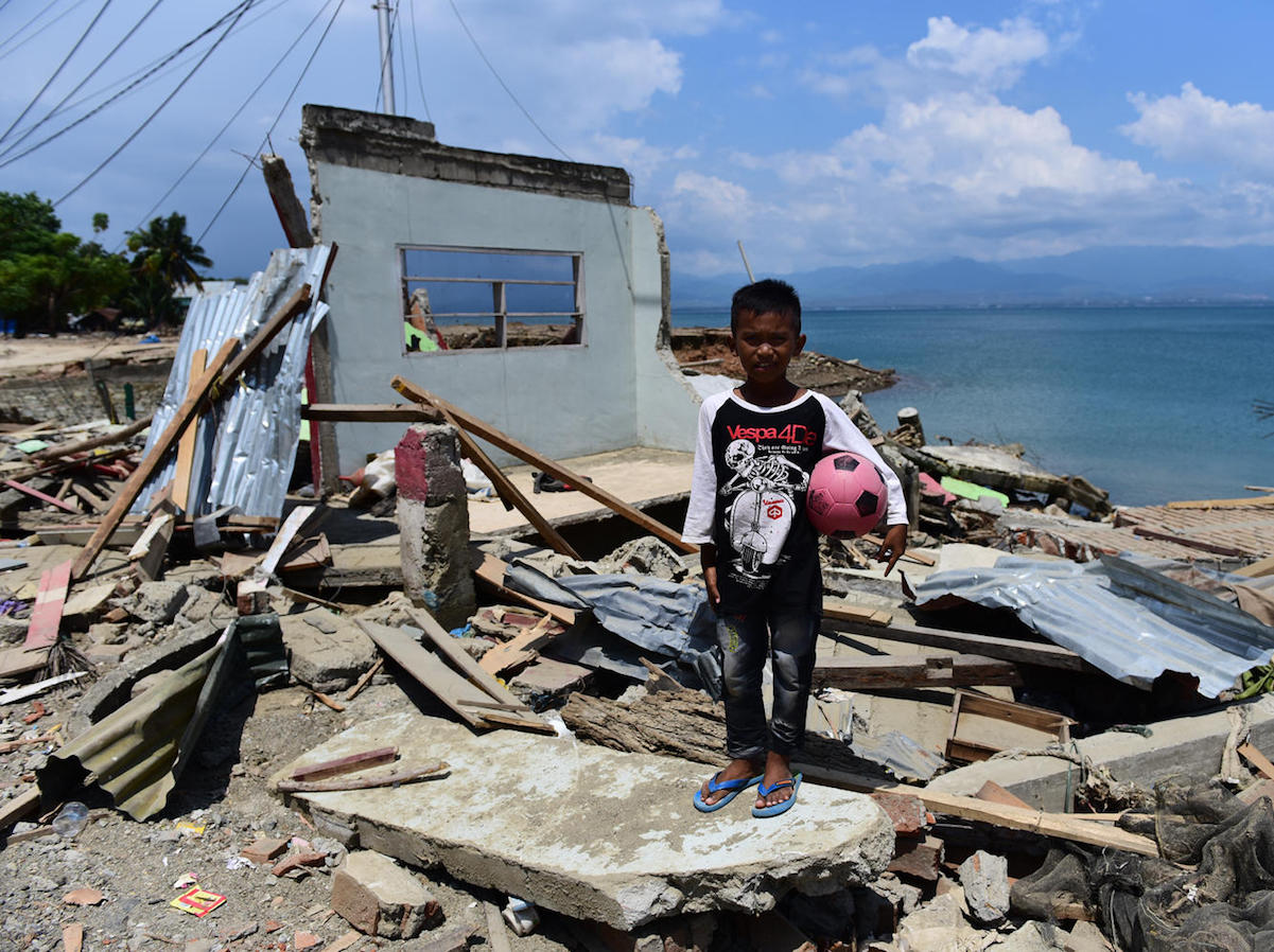 unicef, indonesian earthquake, indonesian tsunami, indonesia, disaster relief