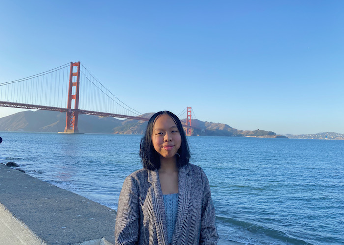 Adrianna Zhang is a youth leader involved in San Francisco's Child Friendly Cities Initiative.