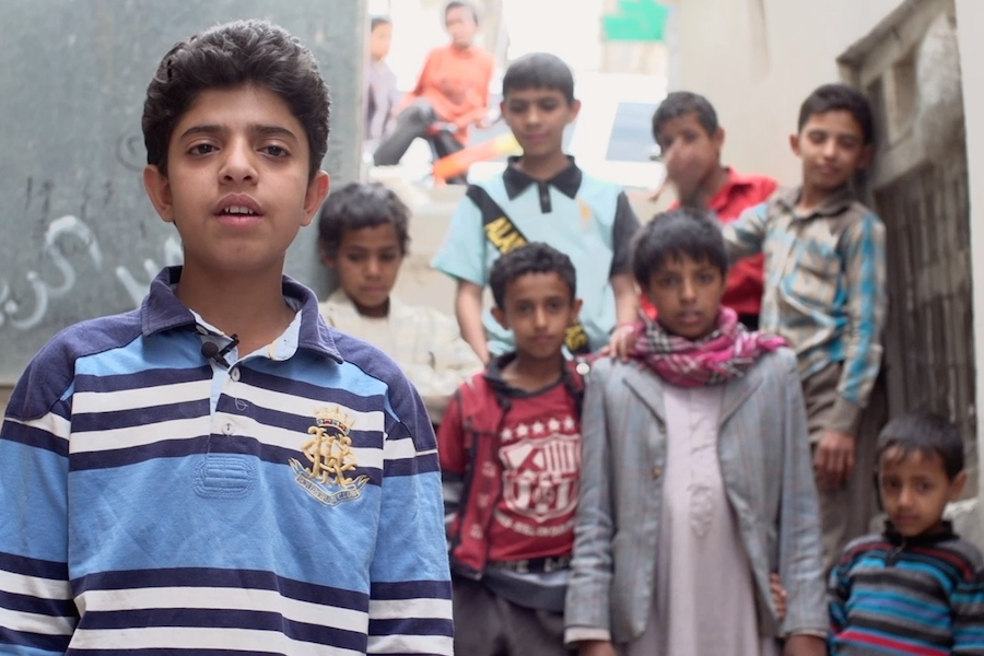 Children caught in Yemen conflict 2015: Amjad Al Mugbali