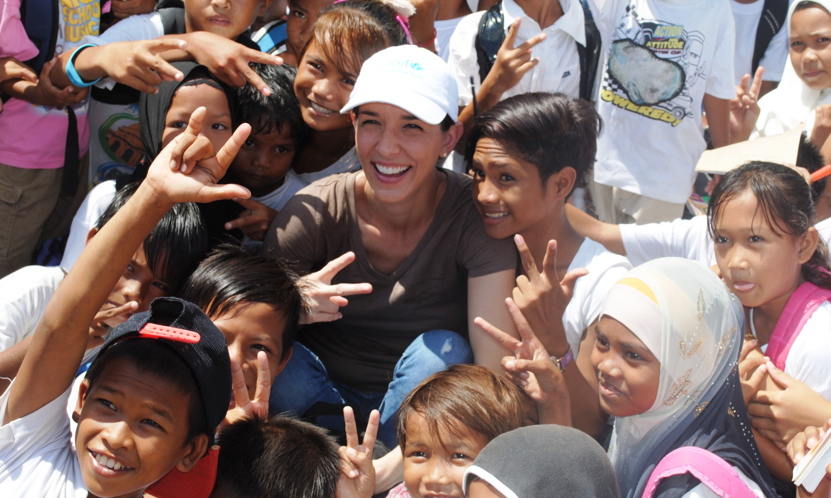 Andrea Masterson, HSNi Cares, Visiting UNICEF Programs in Malaysia