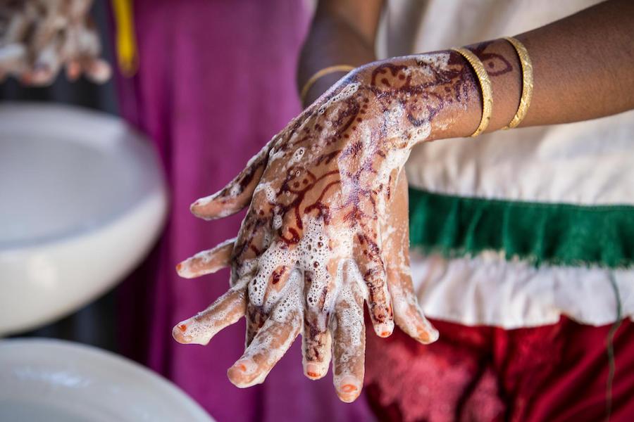 Unicef, handwashing, Bangladesh, Rohingya