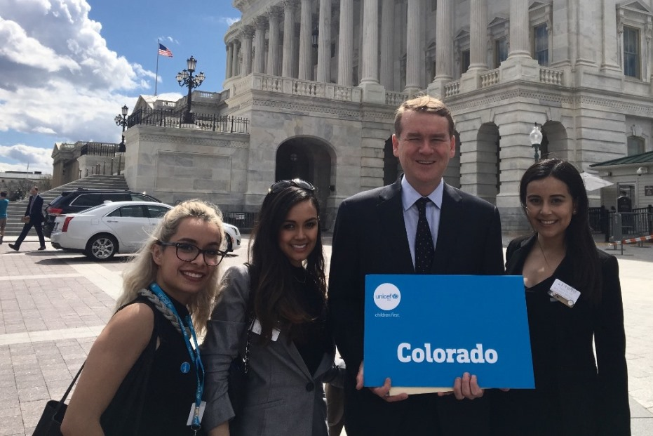 Members of the Denver CAT Meeting with Rep. Michael Bennet