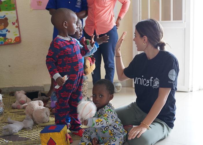 UNICEF NextGen field visit to Rwanda, 2020