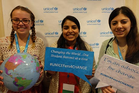 Thank you for your interest in starting a UNICEF club at your school!