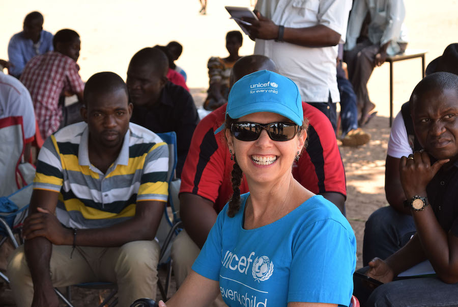 Judith Sherman, UNICEF Malawi, HIV and Maternal/Newborn Health Program Manager and mother of two.