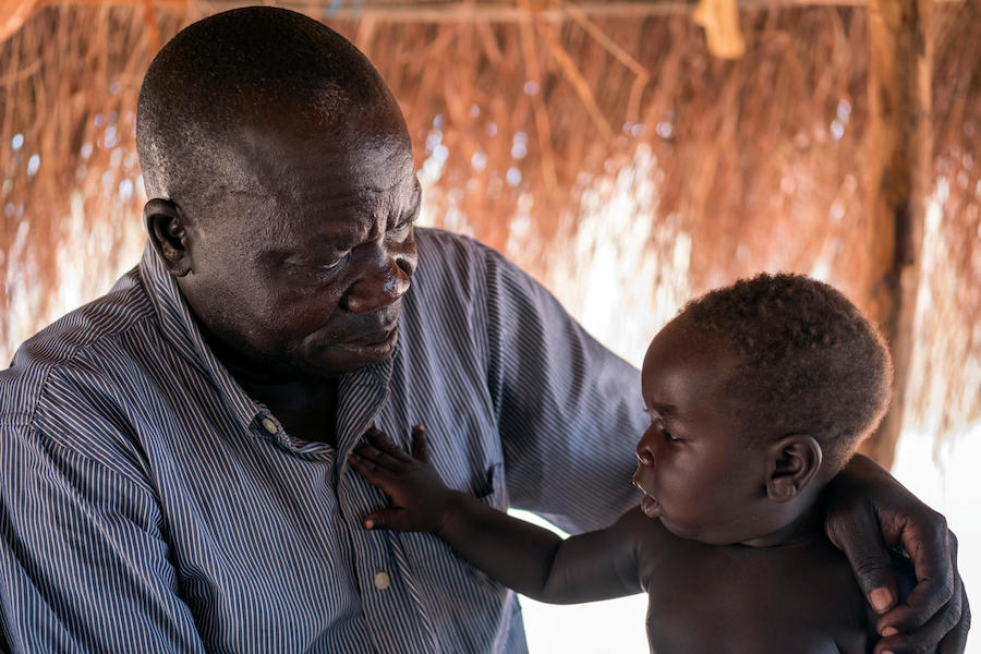 unicef, father's day, south sudanese refugees, bidi bidi, refugees, south sudan, uganda