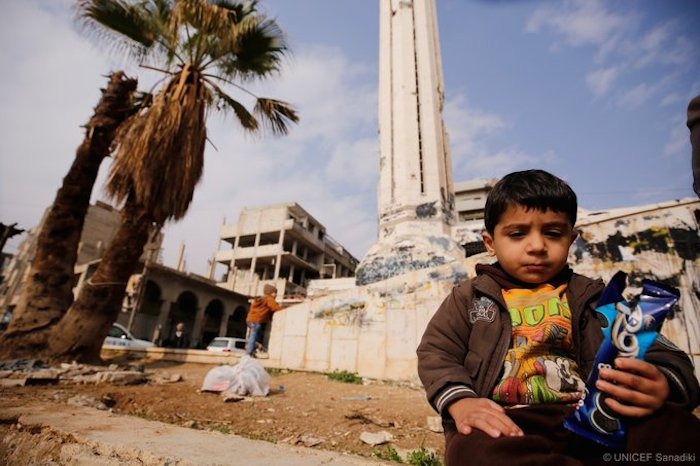 Four million children have been born in Syria since the current conflict first erupted in 2011.
