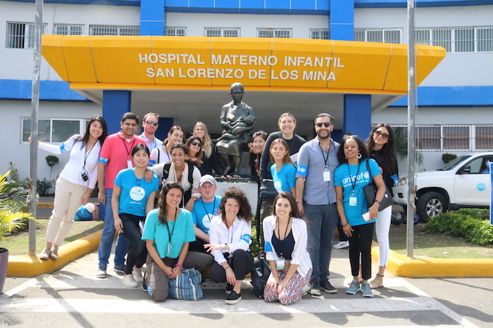 In February 2019, members of UNICEF Next Generation traveled to the Dominican Republic for the Annual NextGen Global Summit.
