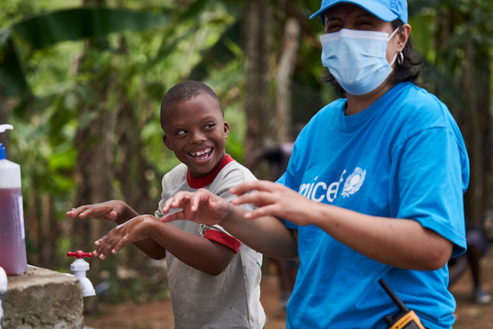 In Panamanian Darien, UNICEF and partners are assisting migrant children and families trapped by COVID-19 pandemic-related border restrictions.