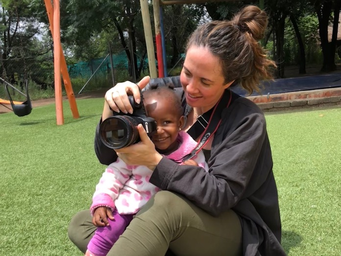 Donia Quon visited a UNICEf-supported Early Childhood Development program in Johannesburg, South Africa.