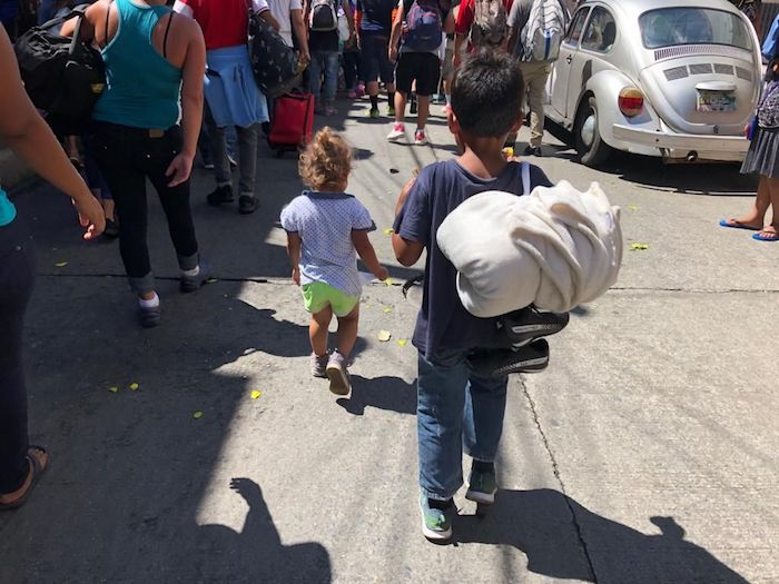 UNICEF, Mexico, Central America, Migrant Caravan, Child Migrants