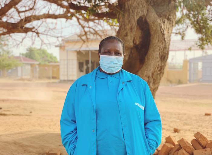 UNICEF Uganda Health Specialist Dr. Eva Kabwongera