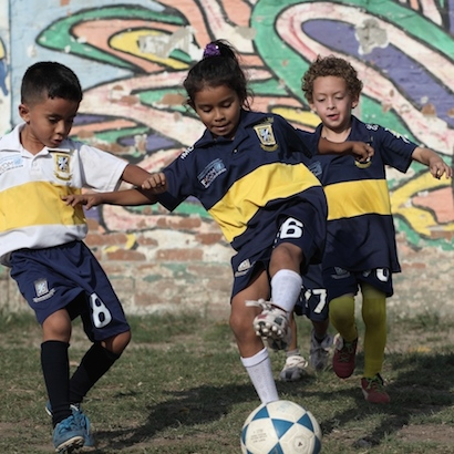 Children in El Salvador face a triple-threat of poverty, inequity and violence.