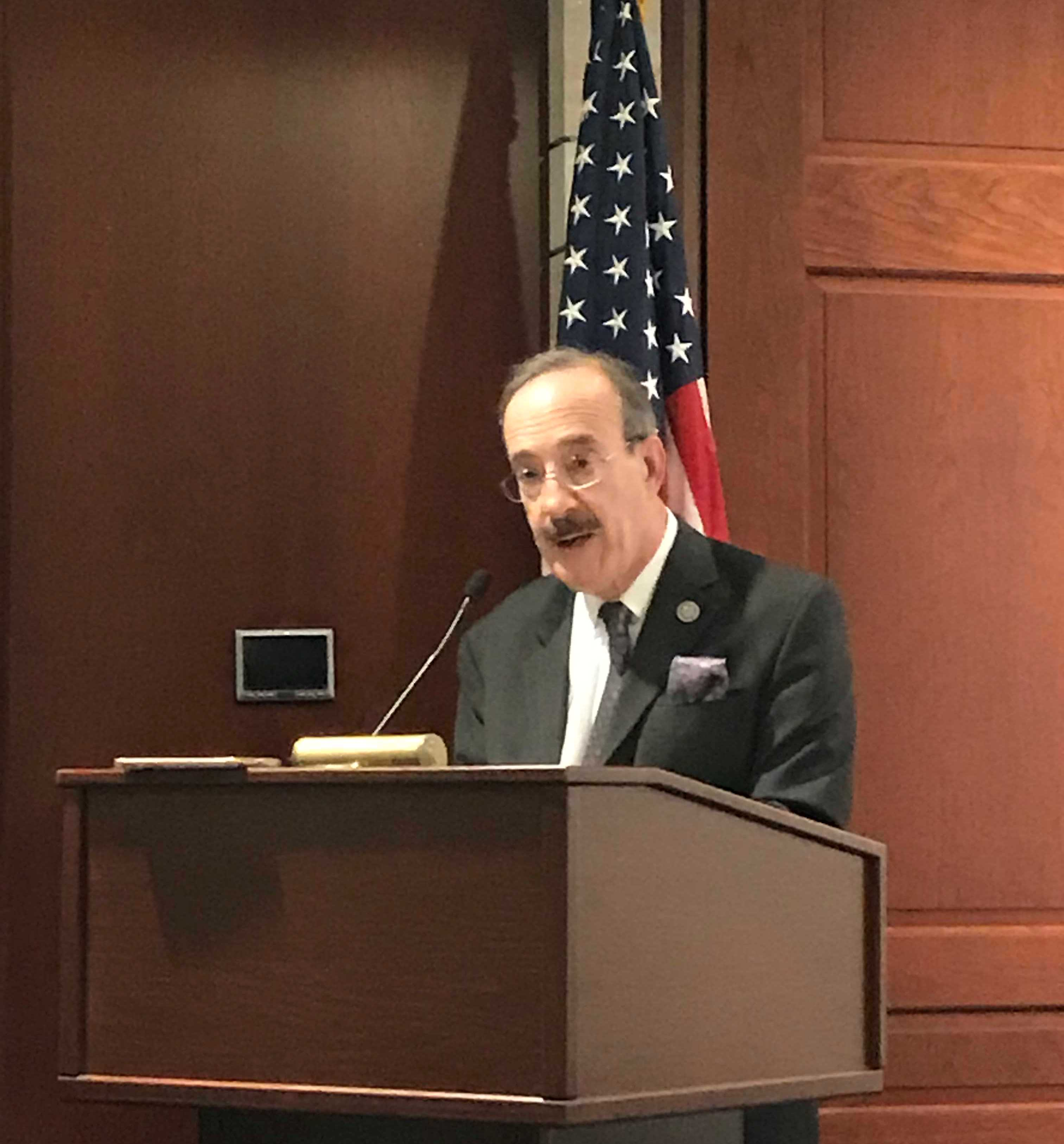 Rep. Eliot Engel (D-NY) at No Lost Generation event