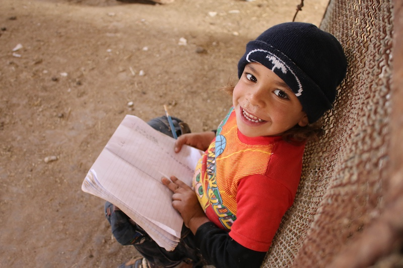 To help UNICEF make progress on SDG 4 (quality education for all), the Bridge Fund accelerated grants for schools for displaced Syrian children like 5-year-old Seif-ed-Dien.