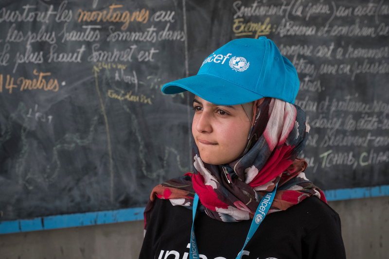 Syrian refugee and education activist Muzoon Almellehan is UNICEF's newest — and youngest — Goodwill Ambassador.