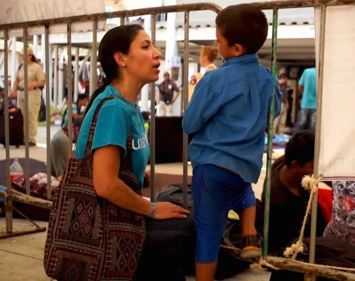 Child protection officers like UNICEF Mexico's Gema Jiménez work to make sure migrant and refugee children — accompanied and unaccompanied — are getting the care and protection they need.