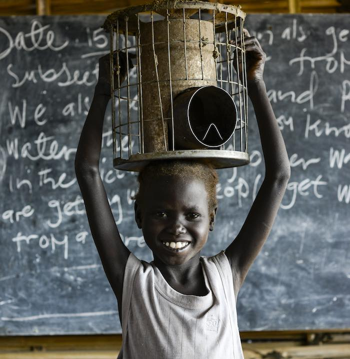 South Sudan has the hightest number of children out of school in the world, with 1.8 million with an unclear future. The enrolment rate into the primary education is only 50 per cent countrywide.