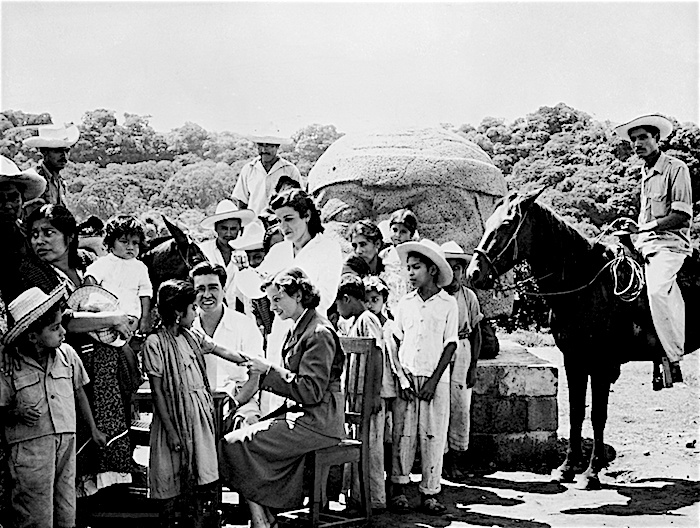 UNICEF conducting immunization in Mexico circa 1950