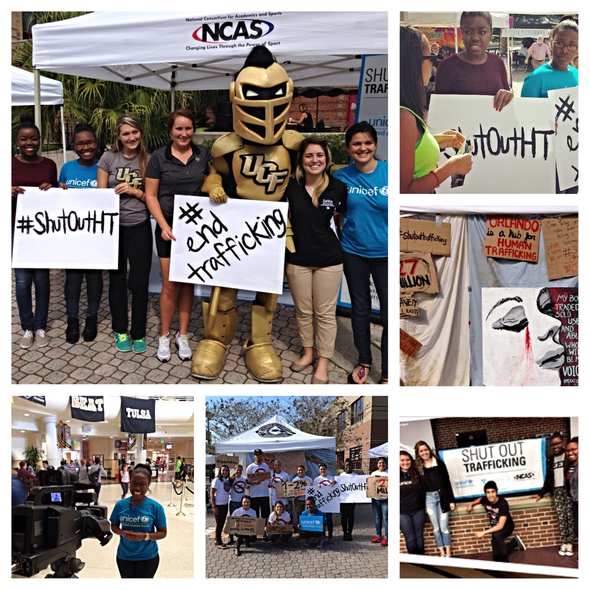 Shut Out Trafficking activities take place at UCF
