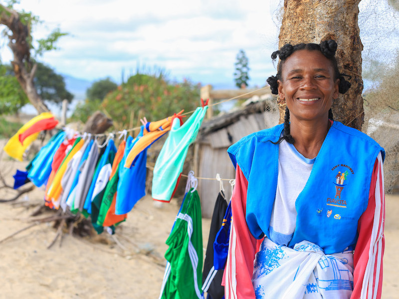 In Madagascar, experienced moms like Mampra are trained by UNICEF to act as Mother Leaders in their community.