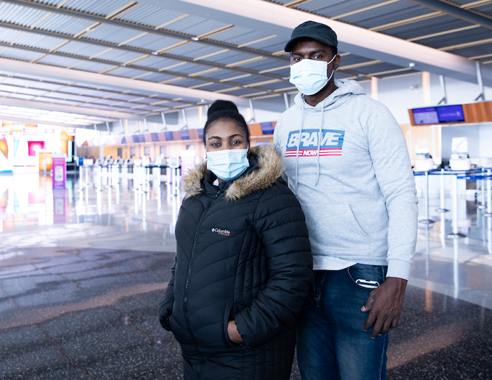 Jewish Family Service of San Diego welcomed Emmanuel* and Fabiola* (names changed) to the U.S. and helped them navigate the complex legal system upon arrival from Haiti.