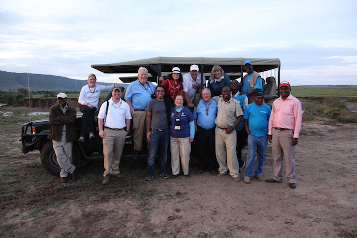 UNICEF, UNICEF USA and Kiwanis International staff in Kenya in 2014