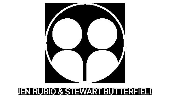 Jen Rubio and Stewart Butterfield