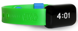 Star Wars: Force For Change UNICEF Kid Power Band (light-side green)