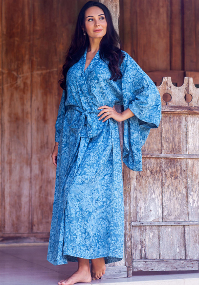 Handcrafted Luxurious Foliage Robe
