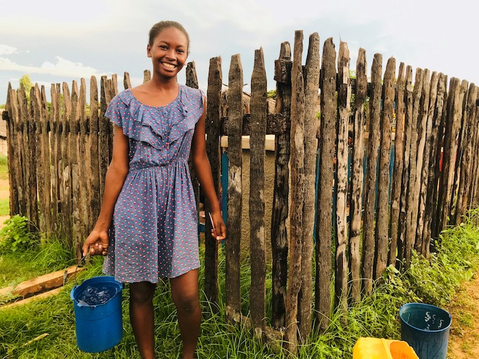 UNICEF and partners are providing clean water and improved sanitation in Madagascar so girls like Roasoanantenaina can stay in school.