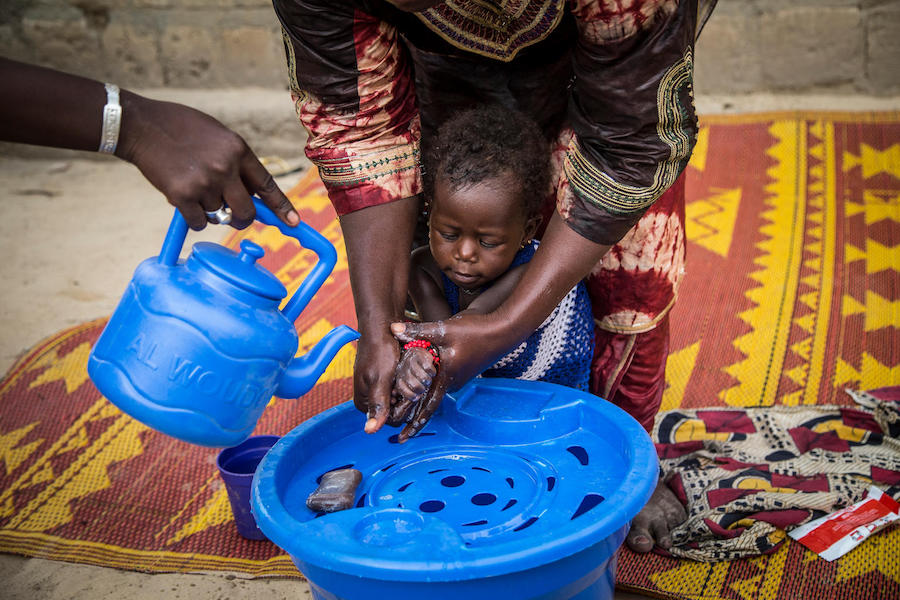 UNICEF, handwashing, global handwashing day, WASH, Mali, diarrhea prevention