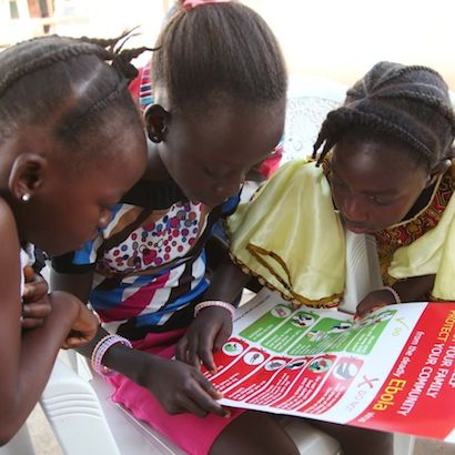 Unicef Liberia is working to spread vital Ebola-prevention information.