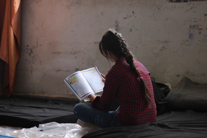 Nadeen was forced out of class for two years when her school closed down due to fighting in Aleppo, Syria. UNICEF is helping children like her attend their exams.