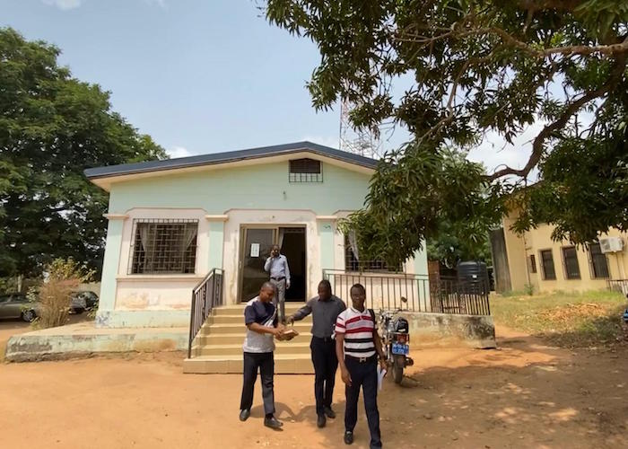 In Ga West, Ghana, social workers relied on paper-based ledgers and registers. UNICEF's Primero digital platform will help them better manage their child welfare data.