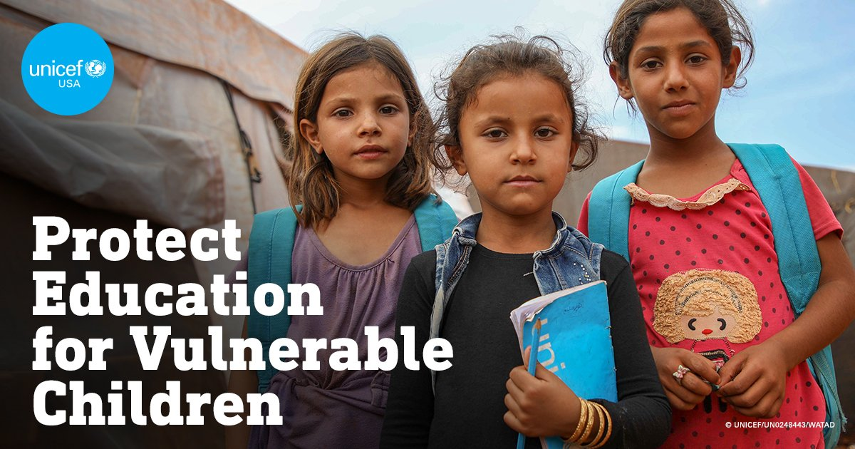Protecting Education for Vulnerable Children