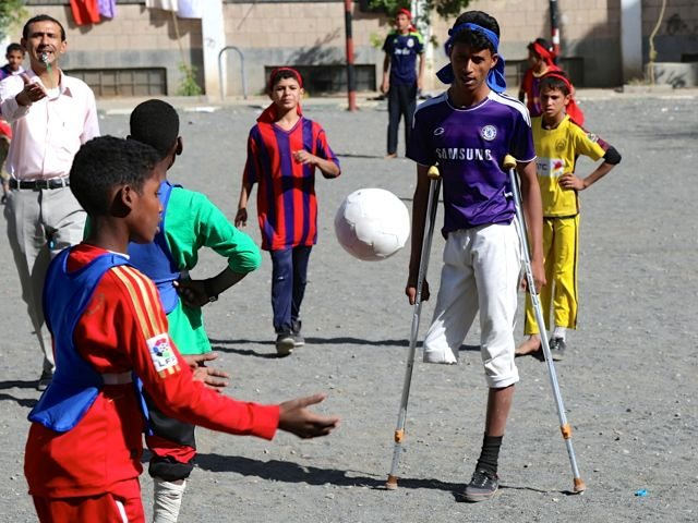 Violence in Yemen has consumed children's lives; some, like Rafik who lost his leg in a bomb blast, will never be the same.