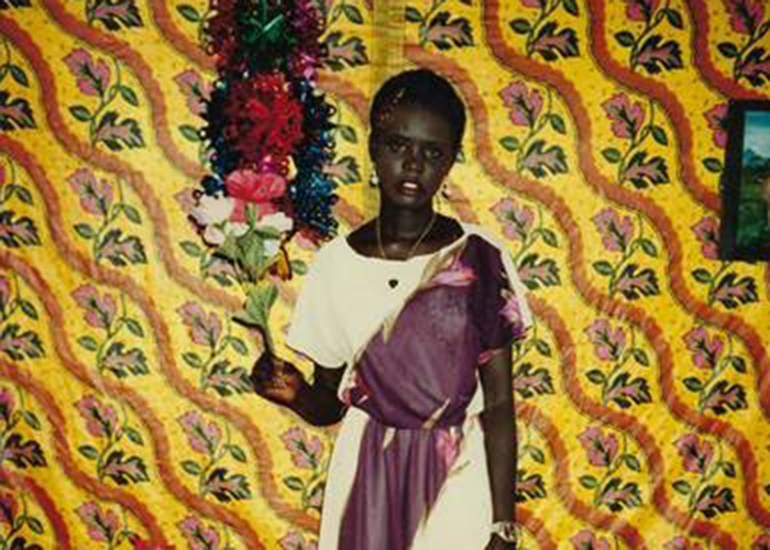 Author and advocate Rebecca Deng at age 14 in Kenya's Kakuma refugee camp.