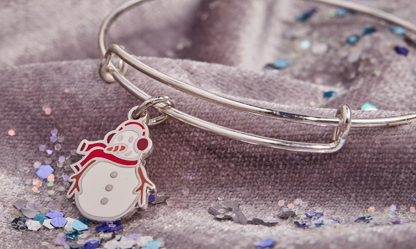 Snowman Charm Supporting UNICEF