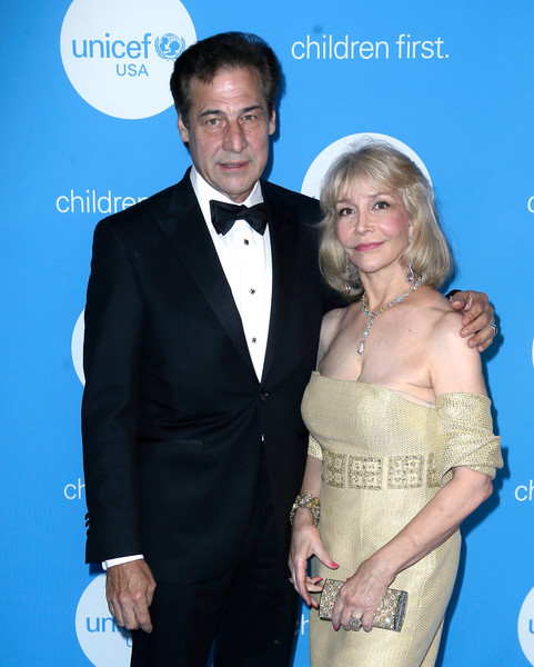 UNICEF USA Southwest Regional Board Chair Susan Boggio and her husband Dan attend the 2017 UNICEF Gala in Houston, Texas.