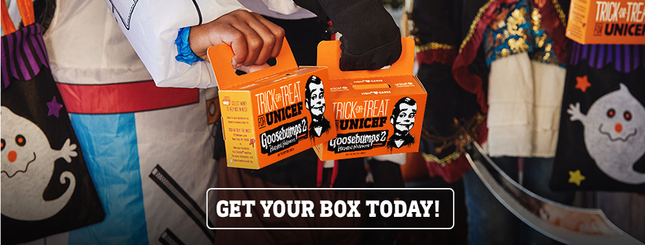 Trick-or-Treat for UNICEF has been helping children around the world since 1950. Order your box today and save a child's life with your Halloween donation.