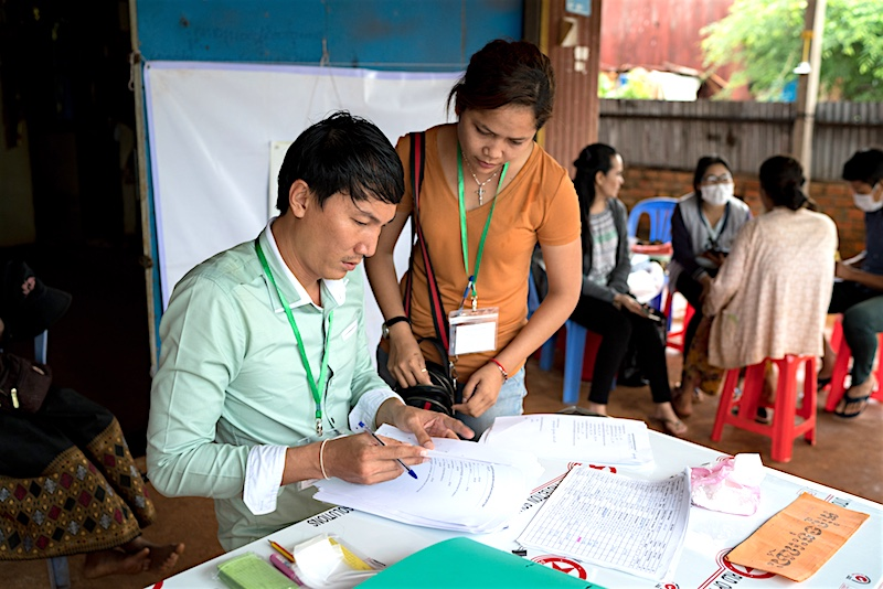 Longitudinal health studies — like the one Teck Seavyong is leading here in rural Cambodia — are vital components of UNICEF's global leadership on data for children and enable us to track progress on the SDGs.