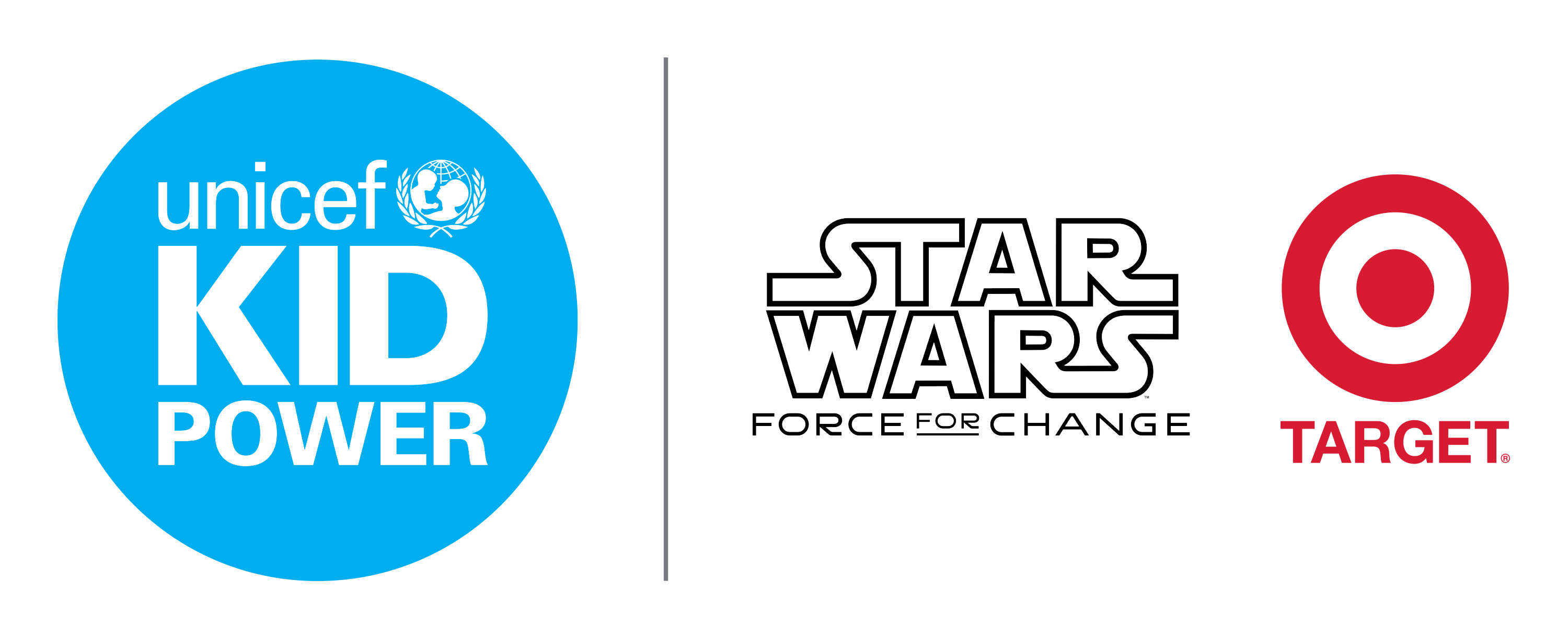 UNICEF Kid Power Presenting Sponsors: Star Wars: Force for Change and Target